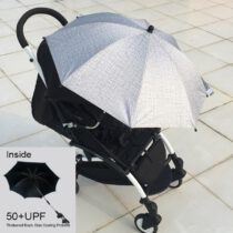 Universal Baby Stroller Accessories 95% UV Protection Umbrella 360 Degrees Adjustable Sunshade Canopy Cover